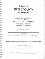Title Page, Steele County 1970